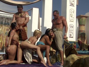 Groupsex Hot Egyptian Orgy! Hot Bodies Fucking Away And Nice Spunk Swap!