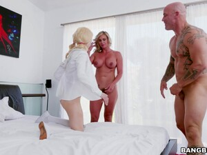 Kinky Wife Phoenix Marie Shares Her Husband With Teen Elsa Jean