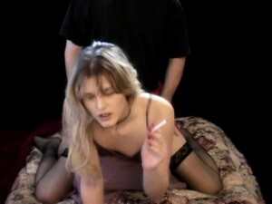 Experienced Blonde Cock-lover Is Great At Smoking And Givin