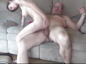 Grandpa With Very BIG COCK Fucks Schoolgirl