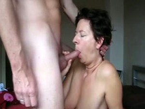 German Mature Cheating Wives Getting Facial Cumshots