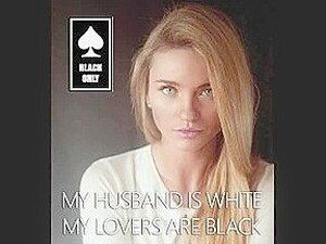 Modern White Marriage- Black Only And Pussyfree Lifestyle Is Common Now