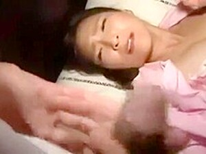 Horny Step Son Cums In Mom's Mouth At Midnight