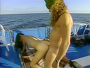 Alex Dane And Johnny Boy Fucks And Sucks On A Boat