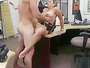 Sexy Police Woman Shows Her Perfect Body