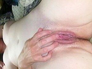 Wife Fingering Her Wet Lil Pussy