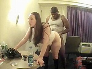 PAWG Wife Meeting Black In Motel