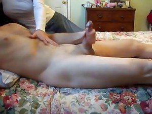Wife Jerking Me Off: CFNM