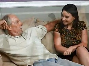 STP3 Horny Niece Almost Caught Fucking Her Uncle By Dad !