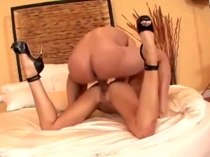 Fabulous Brunette Scene With High Heels,Shaved Scenes