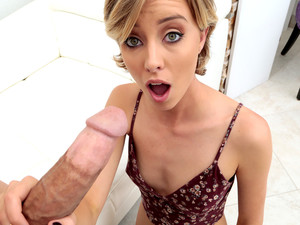 Haley Reed & Bruce Venture In Freaky Haley - FirstTimeAuditions