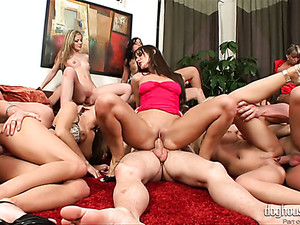Here's Another Steamy Orgy With Gorgeous Cindy Dollar