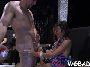 Exciting Blowbang Amateur Sexy 3