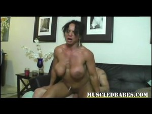 Super Hot Muscled Big Tit Milf Fucks Her Instructor