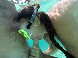 Gopro HD Underwater Sex On Public Beach Part 1