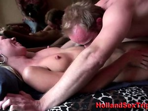 Dutch Hoe And Real Amateur Client