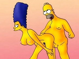 Sexy Compilation Of Marge Simpson Getting Banged By Family Members