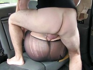 Kinky Blonde Chick Sucks And Rides A Fake Taxi Driver
