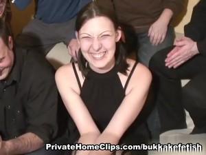 Bukkake With Heather - Part 1