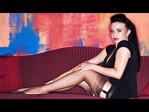 Alexis Stockings Photo Shoot
