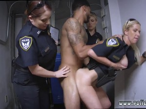 Sexy Police Chicks Have Sex With A Thug