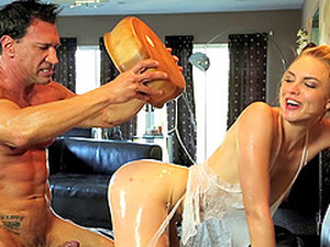 Erotic Wife Gives Her Hubby A Relaxing Massage Before Getting Awarded With A Hardcore Nailing