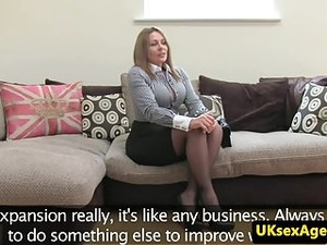 UK Amateur Cocksucks And Rides Casting Agent