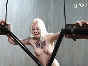 Clamps And Whip For The Blondes