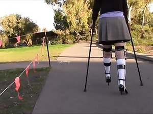 Knee Socks Crutching Legbrace.mp4