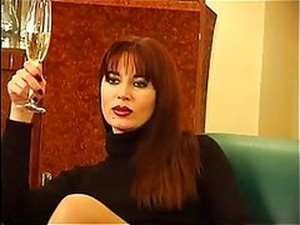 Latina Dominatrix Lady Ramirez Gets Her Feet Licked By Her Sex Slave