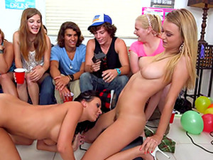 The Best Party Ever With Four Hot And Horny Pornstars Playing Sex Games