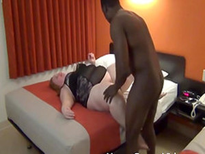 Ebony Stud Drills A Fat Busty Chick In A Doggy Style