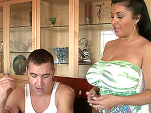 Astounding Jaylene Rio Gets Titfucked In A Reality Video