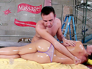 A Nice Sensual Massage Turns Into A Hardcore Fuck Fest