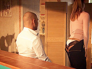 New Tight Secretary Melody Has The Ass Made For A Huge Cumshot