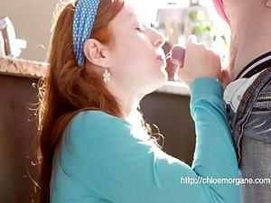 Chloe Morgane (Camille Crimson) DoggyStyle Sex & Creampie