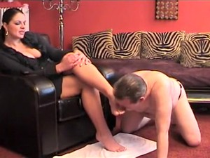 Exotic Amateur Femdom, Foot Fetish Porn Movie