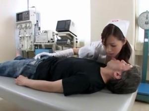 Horny Japanese Chick Megumi Hasegawa In Incredible Nurse, Anal JAV Movie