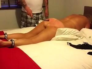 Hottest Amateur Fetish, Spanking Porn Movie