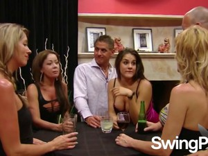 Amazing Swingers Having Fun Together Clip