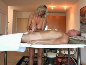 Horny Homemade Clip With Handjob, Big Tits Scenes