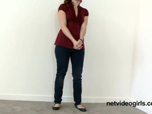 Katie's Calendar Audition - Netvideogirls