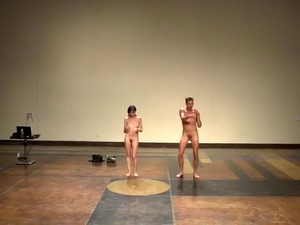 Naked On Stage 96 Magdalena Leite DANCE Leite Y Conde