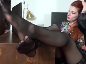 Füße,Fetisch,Latex,Nylon,Strümpfe