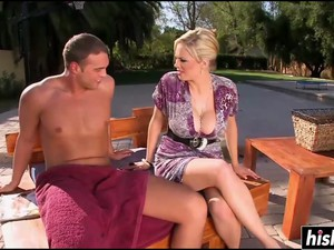 Busty Babe Gets Her Cunt Drilled