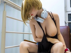 Blonde Brunette Redhead Sex Dolls With Big Tits Ready For An Anal Creampie