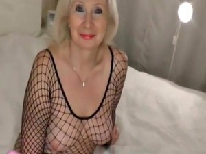 Crazy Homemade Mature, Stockings Porn Movie