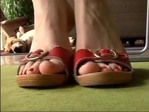 Incredible Homemade Foot Fetish, Fetish Porn Scene