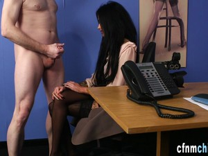 Cfnm Domina Taped Sucking