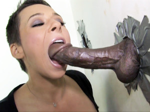 Ariel Alexis Gets Creampied At A Gloryhole